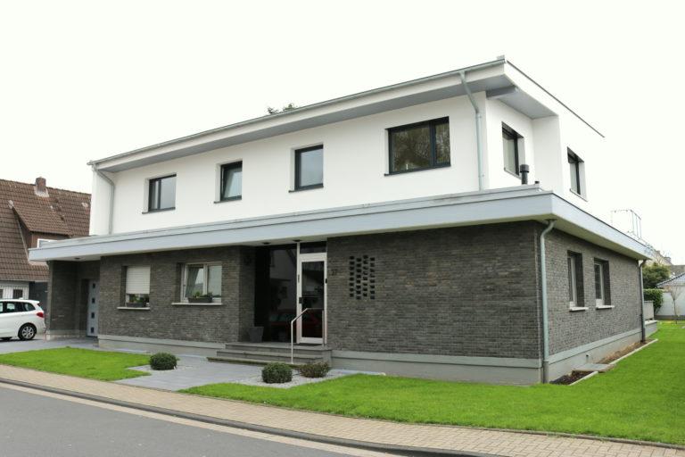 Aufstockung eines Einfamilienhauses